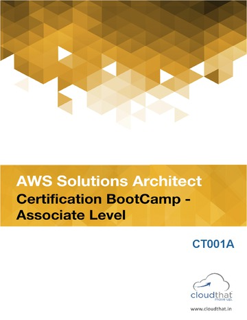 AWS Solutions Architect Certification (Associate Level)