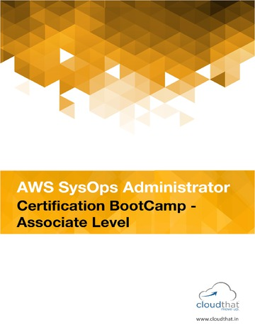 AWS SysOps Administrator Certification (Associate Level)