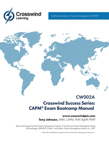 Certified Associate in Project Management (CAPM) Exam Prep