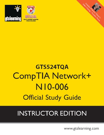 CompTIA Network+ N10-006 QA Trainer Edition