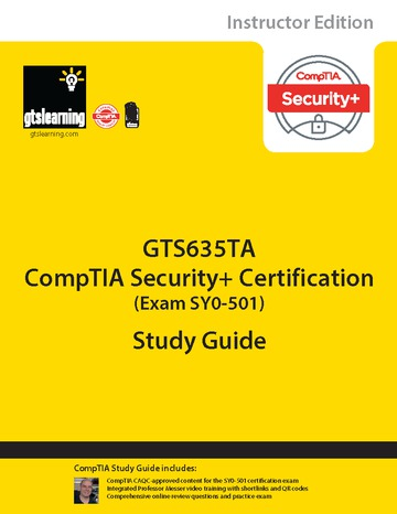 CompTIA Security+ Certification (Exam SY0-501) Trainer Edition