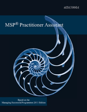 MSP Practitioner Upgrade