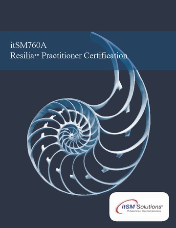 RESILIA Practitioner Certification
