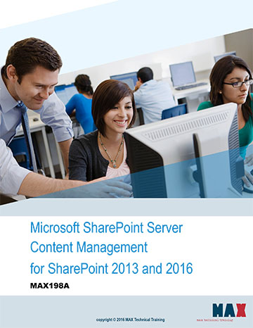 Microsoft SharePoint Server Content Management for SharePoint 2013 and 2016
