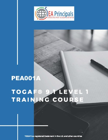 TOGAF 9.1 Foundation Level 1