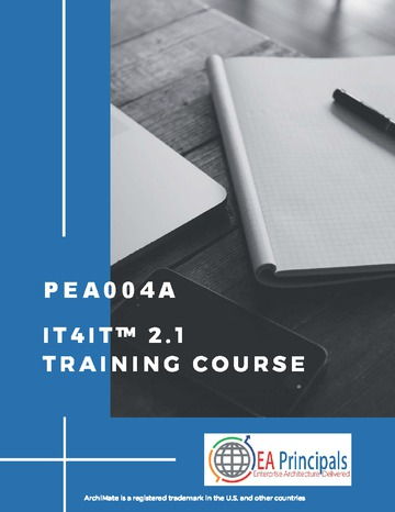 IT4IT 2.1 Training Course