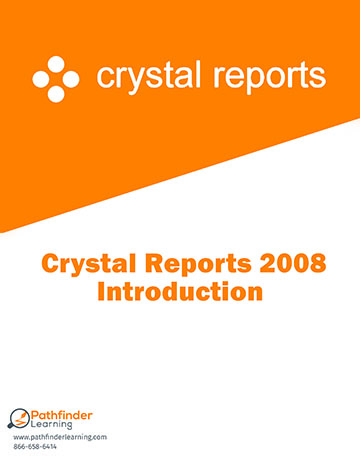 Crystal Reports 2008 Level 1 (Introduction) Training