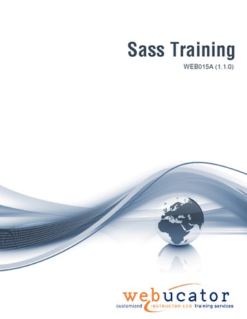 Sass Training